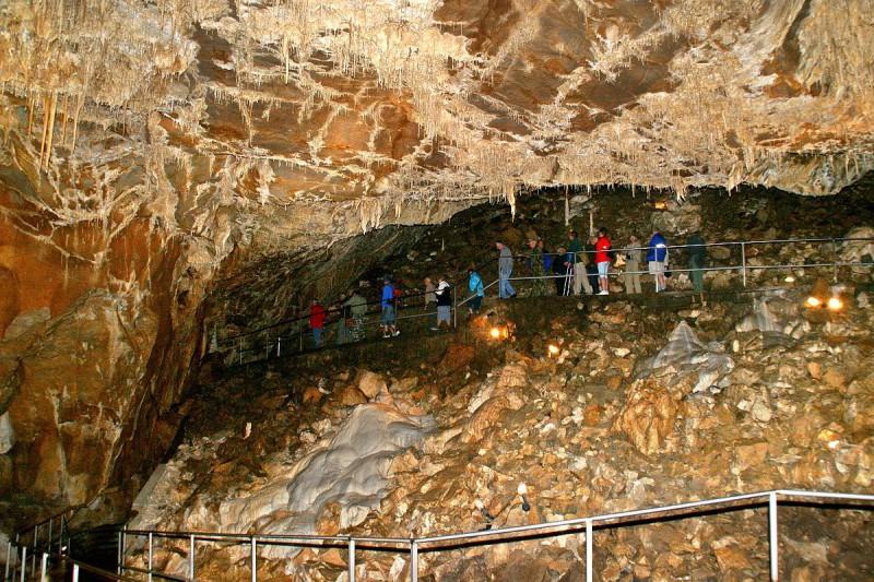 Пунква — одна из самых популярных пещер в регионе.