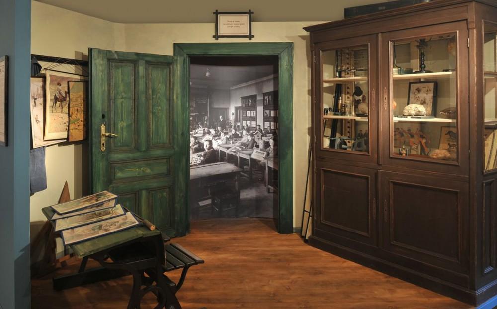 Школьный кабине 1900 г.
