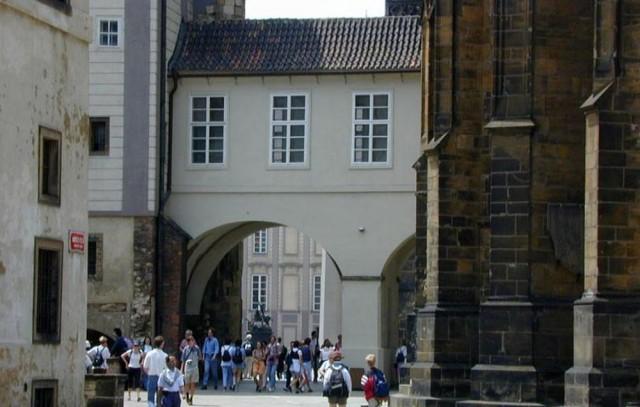 Третий двор Града (Tretí nádvoří Pražského hradu)