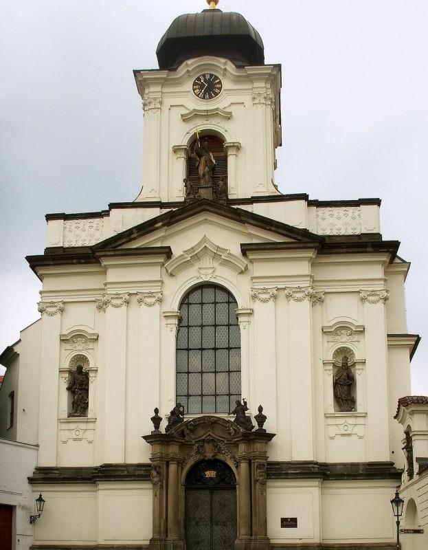 Церковь Святого Яна Непомуцкого (Kostel sv. Jana Nepomuckého)