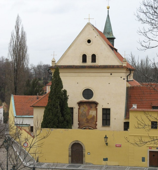 Церковь Девы Марии Ангельской (kostel Panny Marie Andělské)