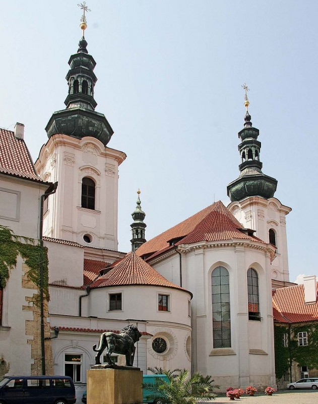 Церковь Вознесения Девы Марии (Bazilika Nanebevzetí Panny Marie)