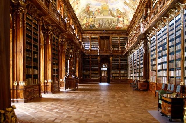 Библиотека Страховского монатыря