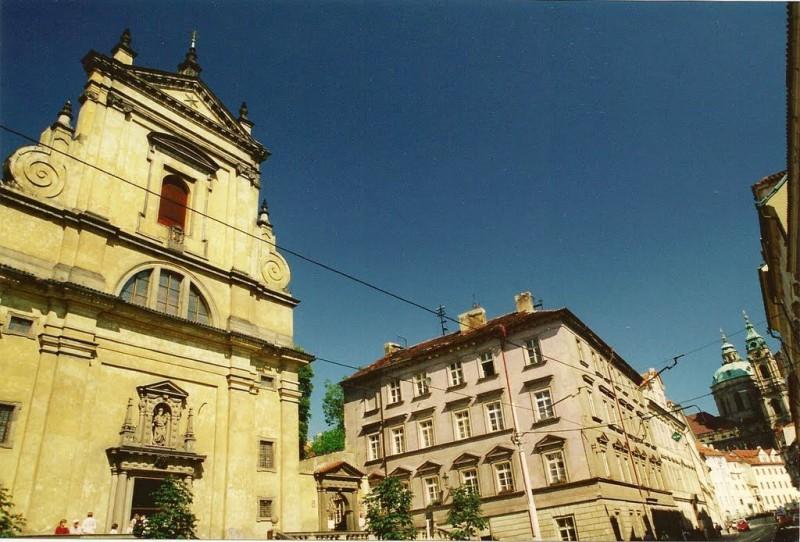 Церковь Девы Марии Победительницы (Kostel Panny Marie Vítězné)