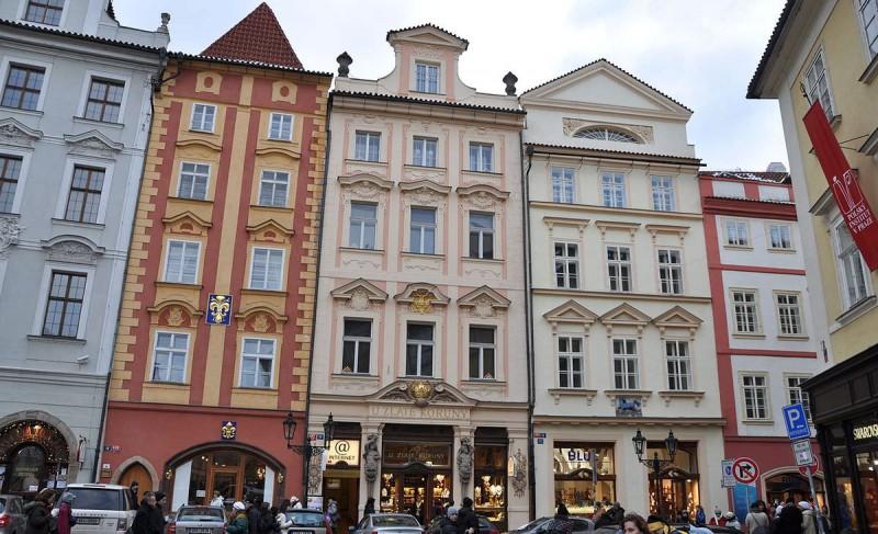 Дома на Малой площади