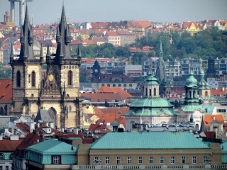 Старый город на берегу Влтавы