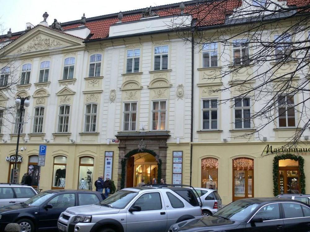 Славянский дом (Slovansky Dum) на улица На Пршикопе (Na Příkopě)