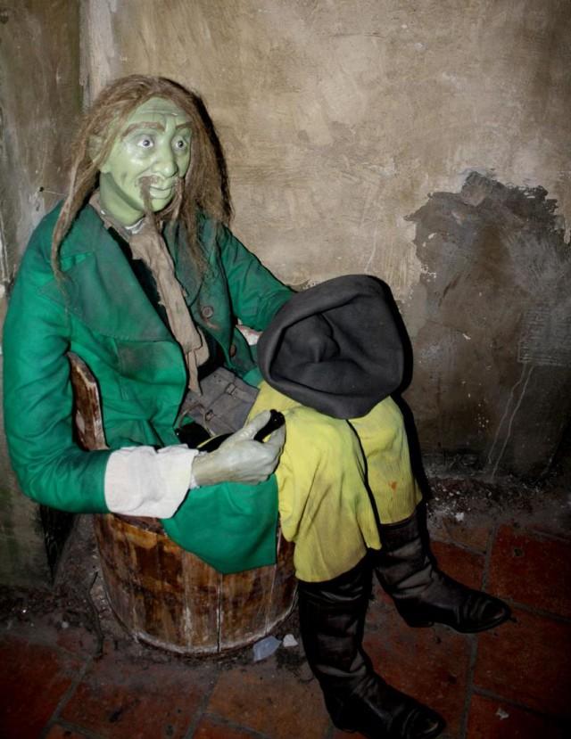 Музей легенд и призраков  (Muzeum pražských pověstí a strašidel)