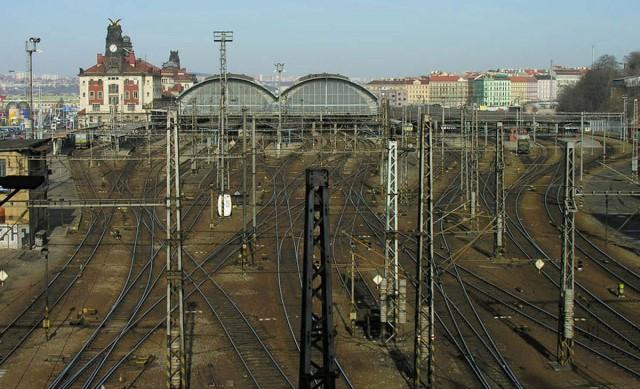 Главный железнодорожный вокзал (Hlavní Nádraží)