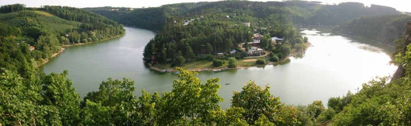 Врановское водохранилище (Vranovská přehrada)