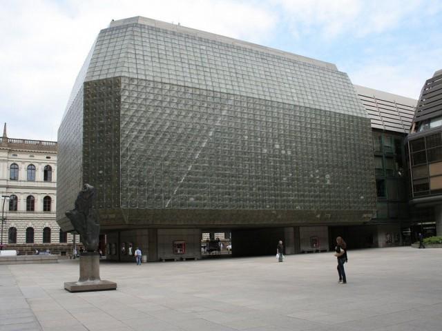 Новое здание Национального театра (Národní divadlo)