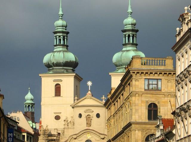 Церковью Св. Гавла (Kostel svatého Havla)