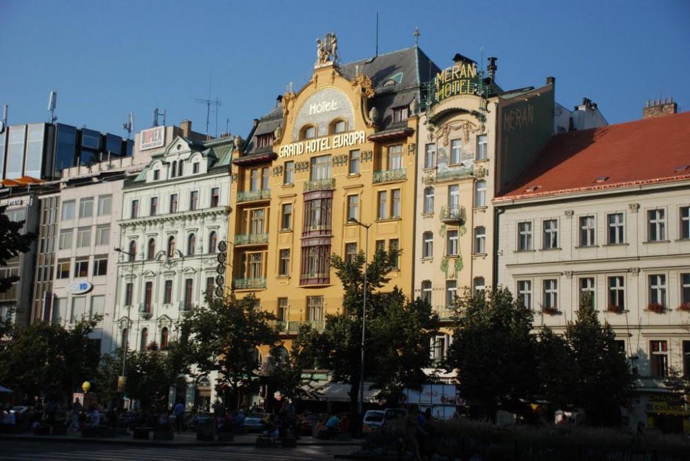 Отель Grand Hotel Evropa