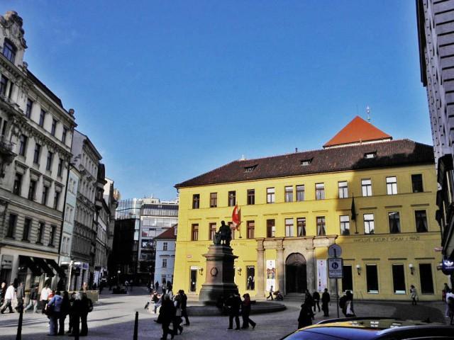 Площадь Юнгмана (Jungmannovo námĕstí)