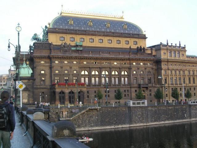 Старое здание Национального театра (Národní divadlo)