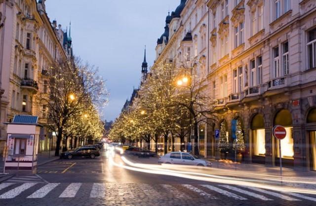 Улица Парижская (Pařížská)