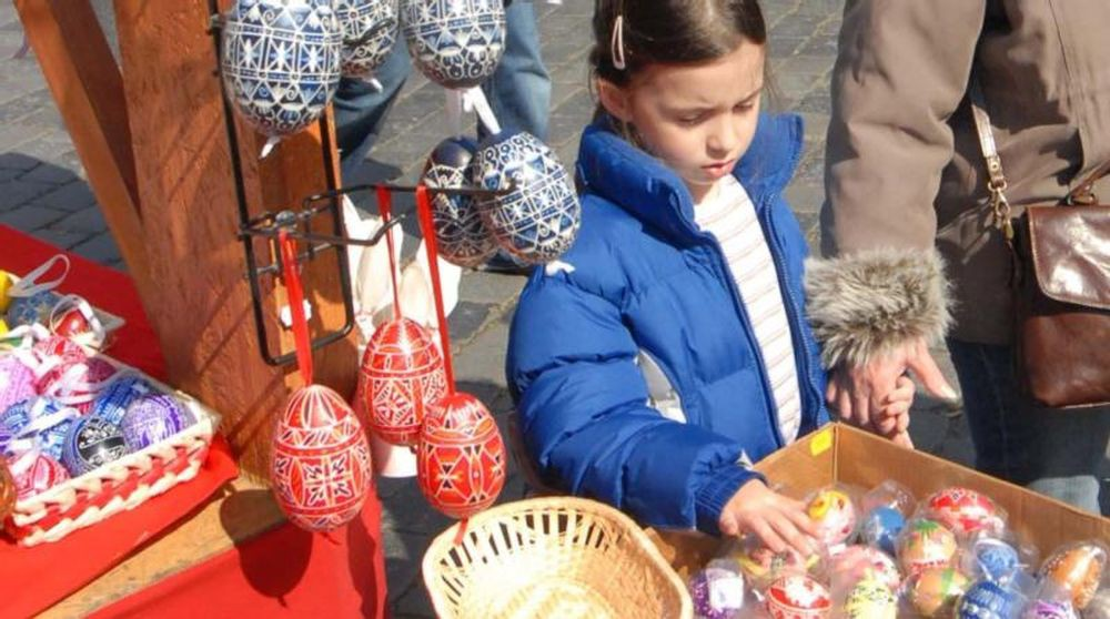 Пасхальные ярмарки (Velikonoční trhy)