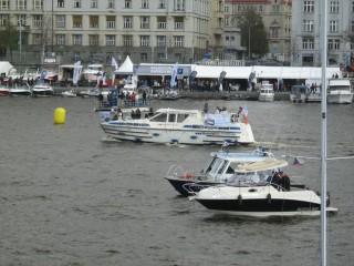 Прага, Влтава, Выставка катеров и яхт 2012