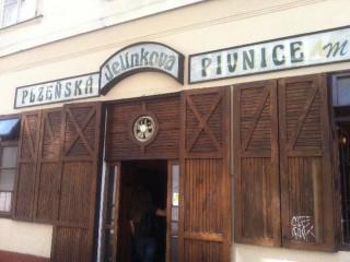 Легендарная пивная У Елинку (U Jelínků)