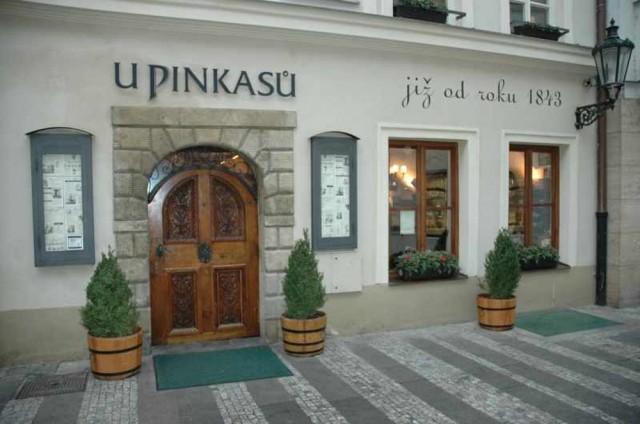 """Ресторан """"У Пинкасу"""" (U Pinkasů)"""