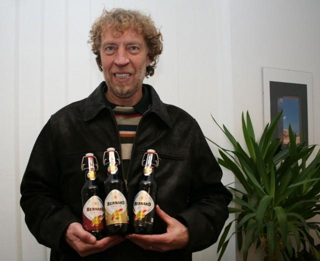 Станислав Бернард хозяин пивовара Бернард в городе Гумполец