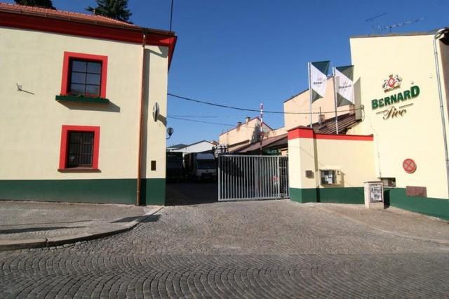 Пивовар Бернард в городе Гумполец