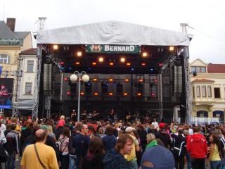 Фестиваль Бернард в городе Гумполец