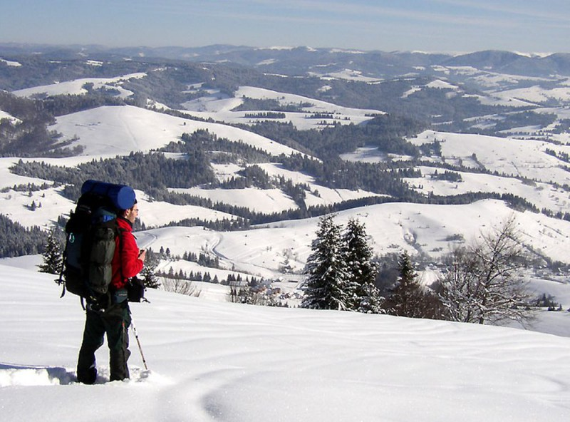 Чешский рай зимой ( Český ráj)