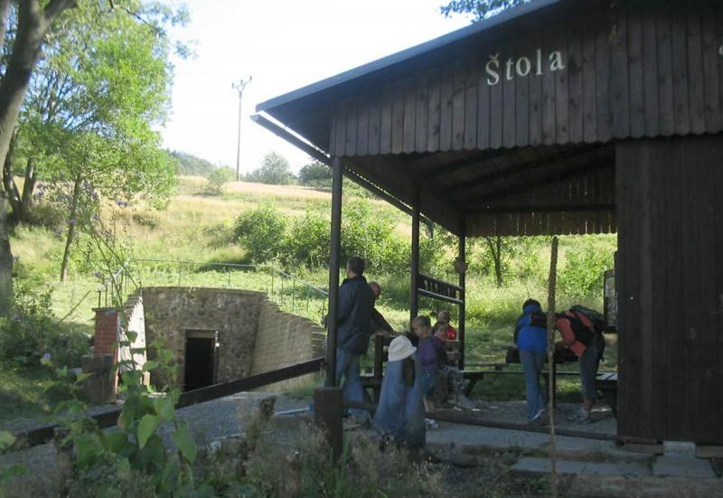 Вход на Серебряный рудник святого Иоанна Богослова