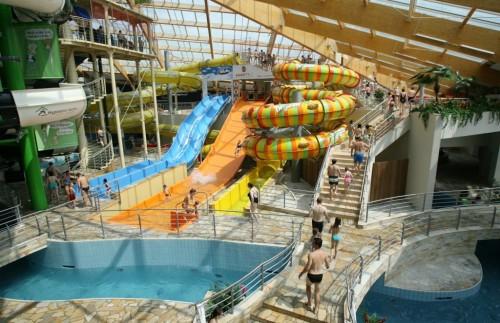 Аквапарк Aquapalace Praha
