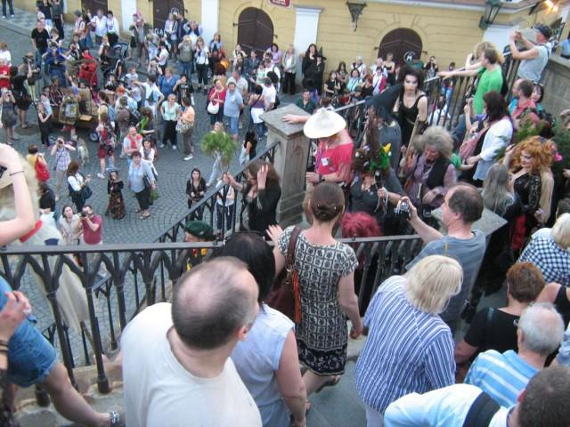 Шабаше ведьм в Праге