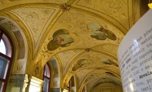 В здании Нижней палаты чешского парламента