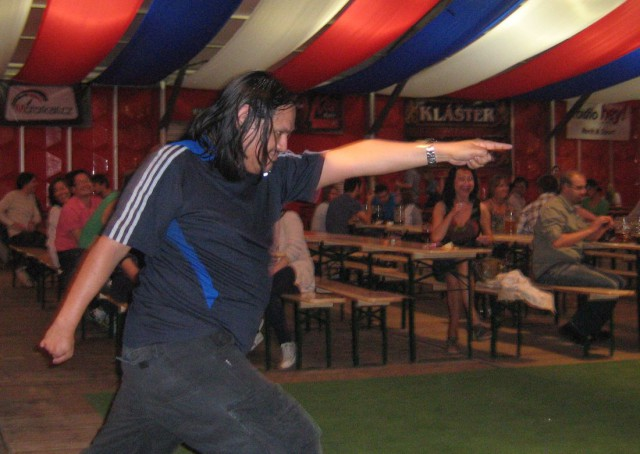 На пивном фестивале в Праге