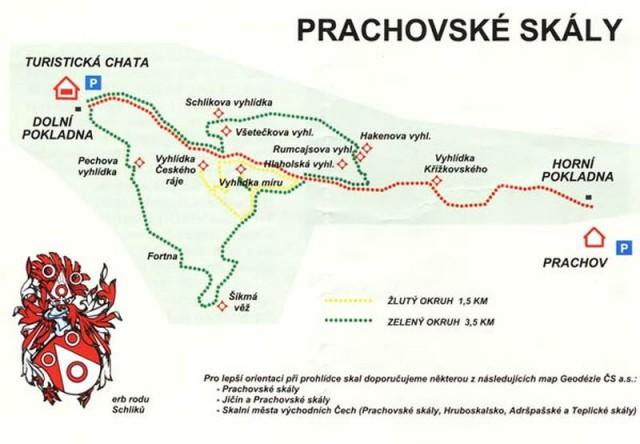 Праховские скалы (Prachovské skály)