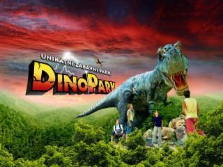 Парк динозавров в Праге