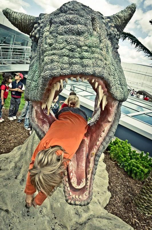 Парк динозавров в Праге (Dinopark Praha)