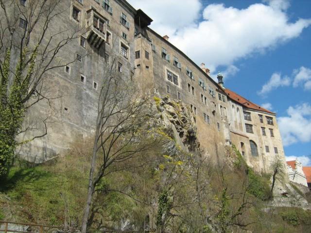 Чески-Крумлов, замок