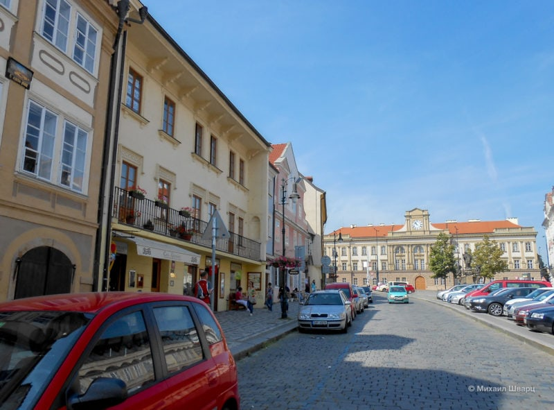 ПлощадьПогоржелец (Pohořelec)