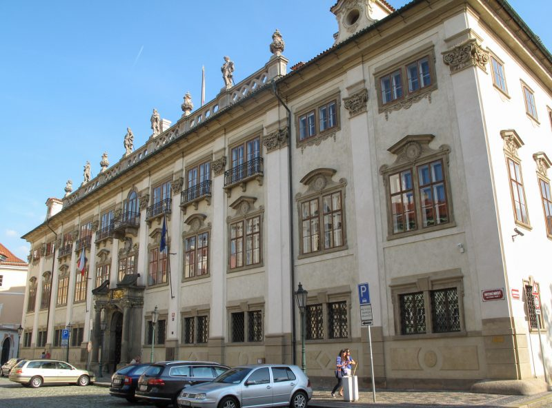 Здание Министерства культуры Чехии
