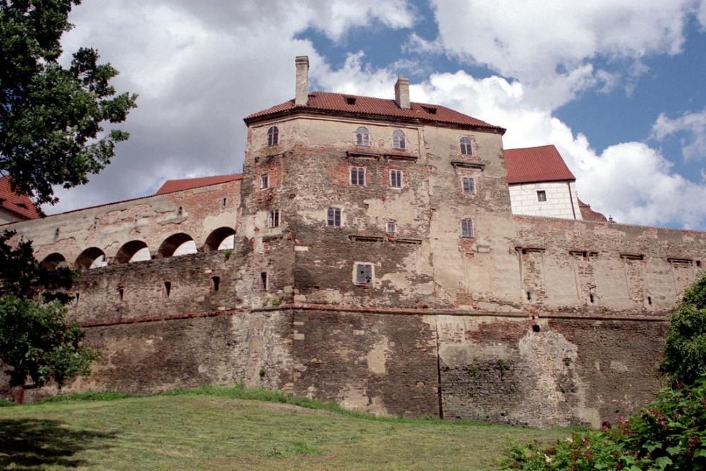 Стены замка Горшовски Тын