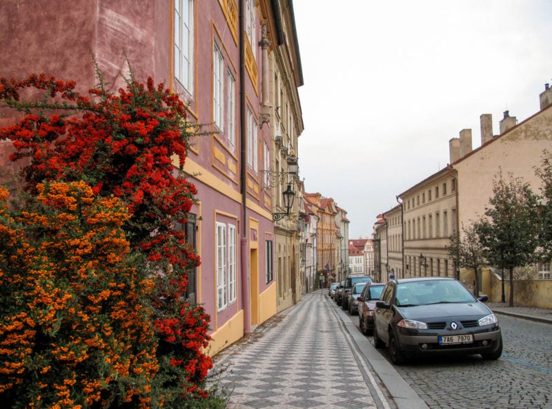 Улица Увоз (Úvoz)