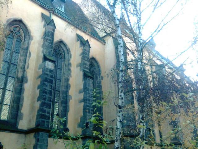 Церковь св. Аполлинария на Ветрове (kostel sv. Apolináře na Větrově)