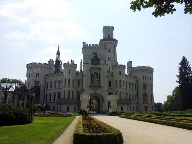 Замок Глубока-над-Влтавой (Zámek Hluboká nad Vltavou)