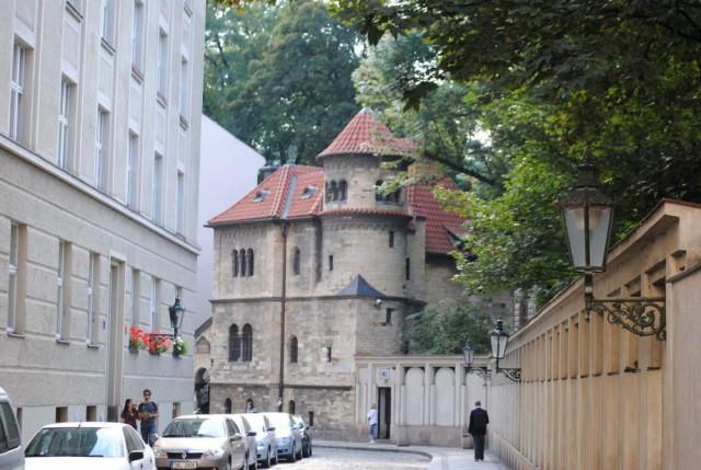 Зал прощания с усопшими у еврейского кладбища в Праге (Nová obřadní síň u Starého židovského hřbitova v Praze)