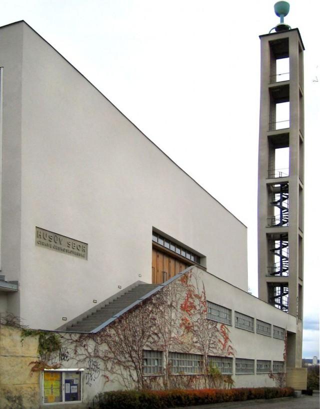 Гуситский собор (Husitský kostel).