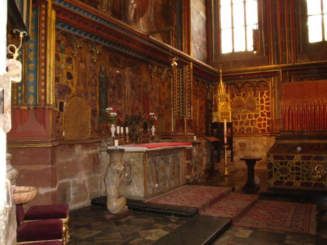 Капелла (часовня) святого Вацлава в соборе святого Вита (Svatováclavská kaple v katedrále svatého Víta)
