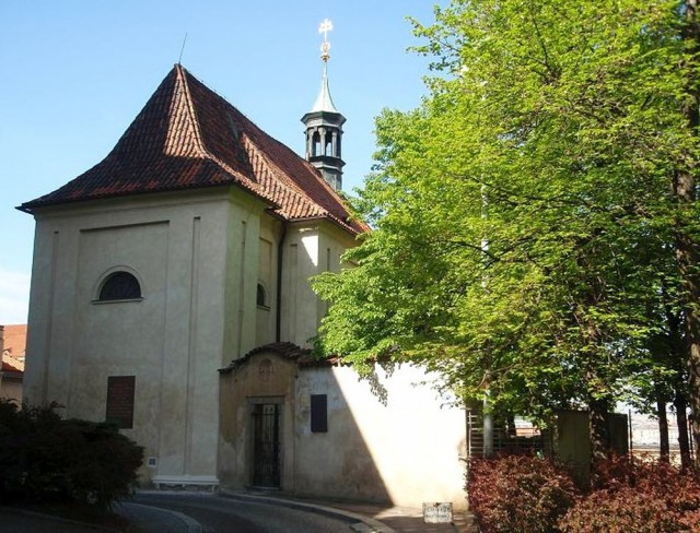 Церковь св. Косьмы и Дамиана (kostel sv. Kosmy a Damiána)