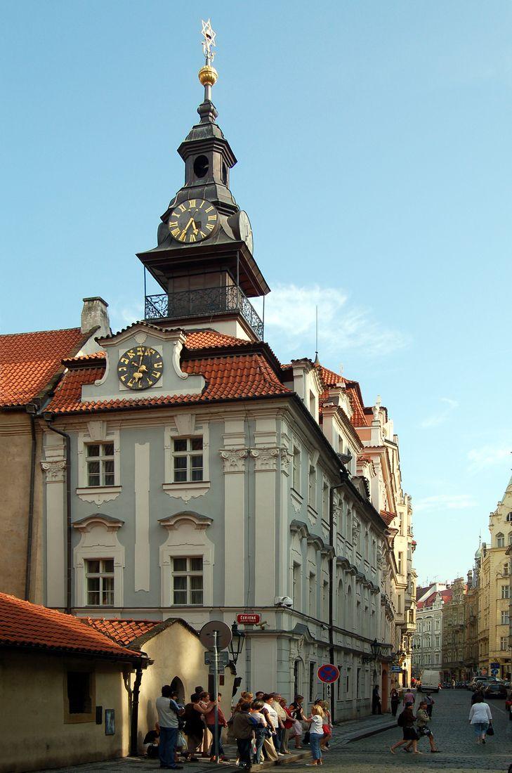 Еврейская ратуша (Židovská radnice)