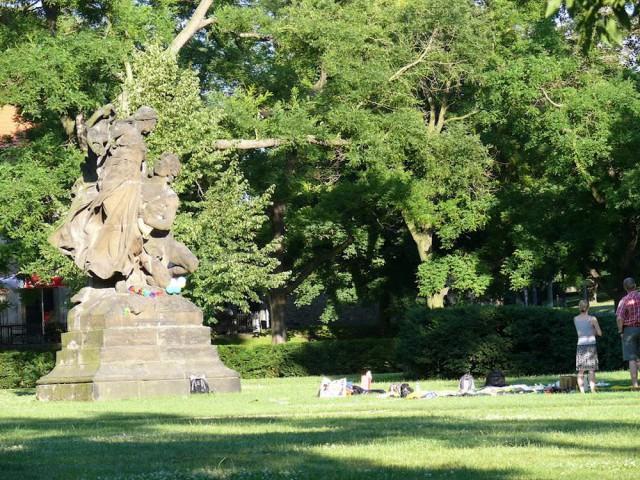 Сады Праги