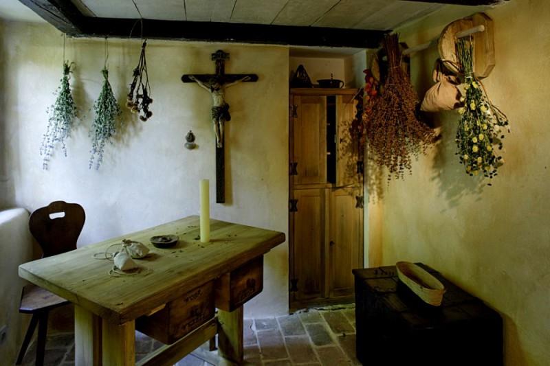 Дом травника
